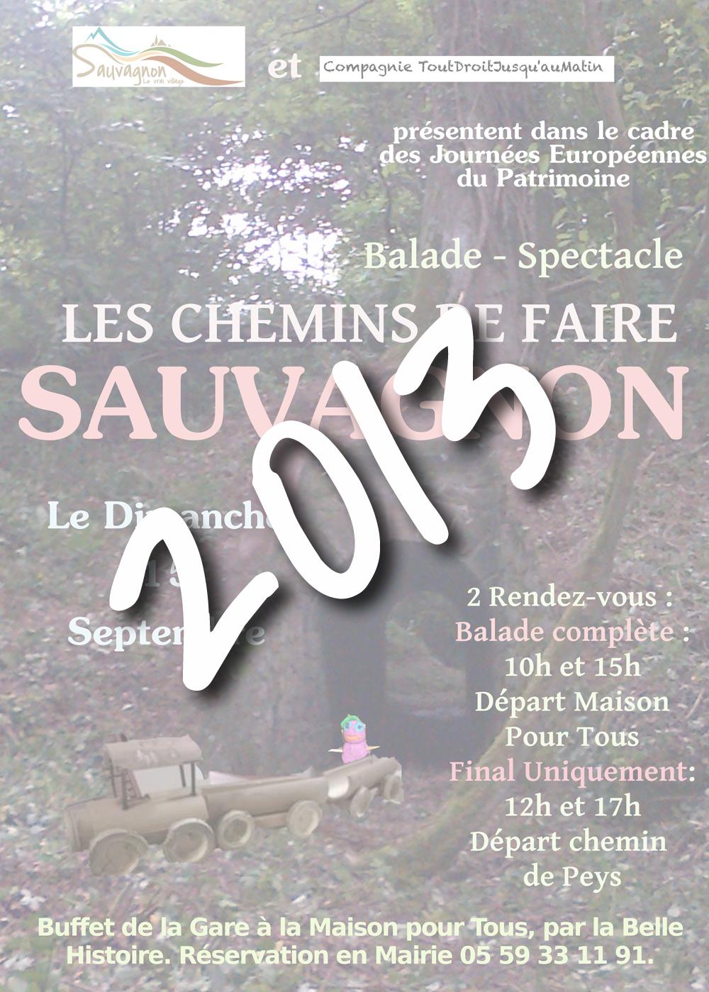 Sauvagnon patrimoine 2013