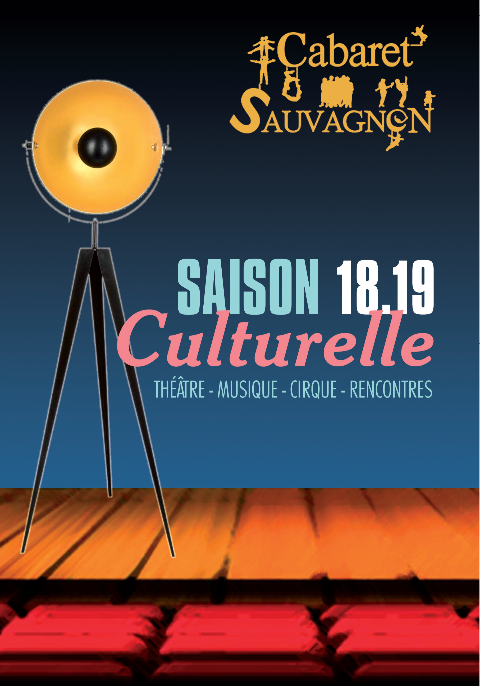 Programme cabaret 2018-2019